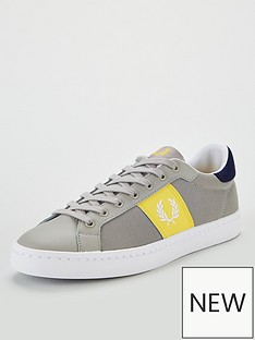 fred-perry-lawn-leather-trainer-grey