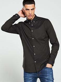 jack-jones-premium-premium-chest-logo-shirt-black