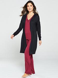 v-by-very-tie-waist-cardi-robe-black