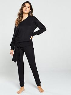 v-by-very-knit-look-lounge-co-ord-joggers-black