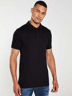 jack-jones-basic-polo-shirt-black