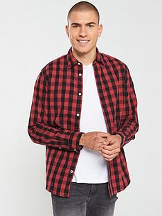 jack-jones-gingham-shirt-redblack