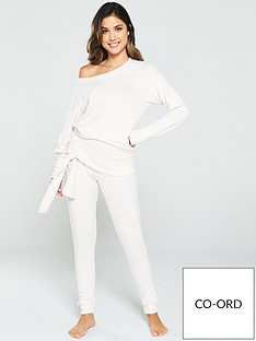 v-by-very-tie-hem-knit-look-lounge-co-ord-jumper-oatmeal