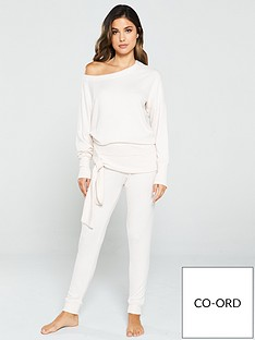 v-by-very-knit-look-lounge-co-ord-jogger-oatmeal
