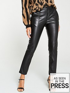 v-by-very-faux-leather-slim-cigarette-trousers-black