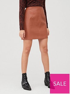 v-by-very-faux-leather-mini-skirt-camelnbsp