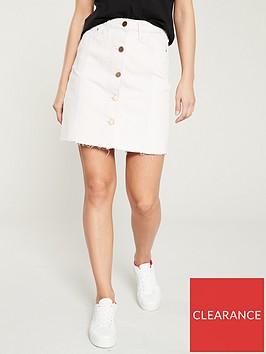 river-island-river-island-button-through-denim-mini-skirt--lilac