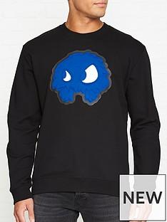 mcq-alexander-mcqueen-monster-print-sweatshirt-black