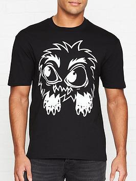 mcq-alexander-mcqueen-monster-t-shirt-black