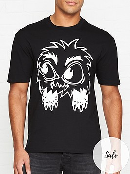 mcq-alexander-mcqueen-monster-t-shirt-black