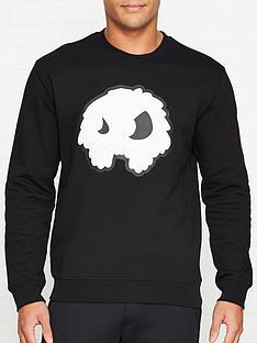 mcq-alexander-mcqueen-monster-print-sweatshirtnbsp--black
