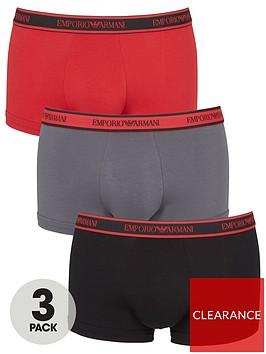 emporio-armani-bodywear-eagle-waistband-trunks-redgreyblack