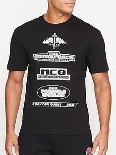 mcq-alexander-mcqueen-multiple-logo-t-shirt-black
