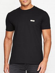 nudie-jeans-daniel-logo-t-shirt-black