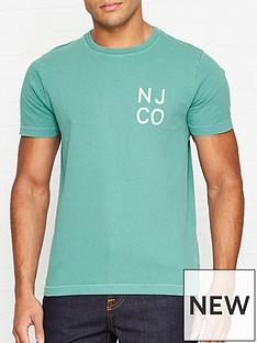nudie-jeans-nj-co-logo-print-t-shirt-turquoise