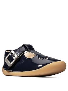 clarks-roamer-star-pre-walker-shoes-navy