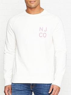 nudie-jeans-melvin-nj-co-sweatshirt-off-white
