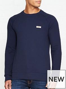 nudie-jeans-samuel-logo-sweatshirt-navy