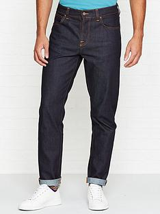 nudie-jeans-steady-eddie-regular-tapered-fit-rinse-jeans-indigo