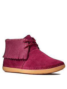 clarks-older-girls-skylark-form-ankle-boots-plum
