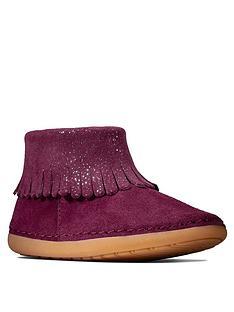 clarks-toddler-girls-skylark-form-ankle-boots-plum