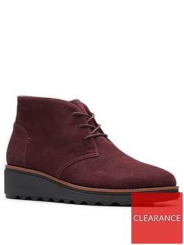 clarks-sharon-hop-wedge-boots-burgundy