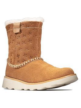 clarks-girls-crown-piper-tan-boots-tan