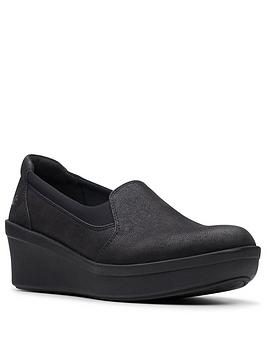 clarks-step-rose-moon-wedge-shoes-black