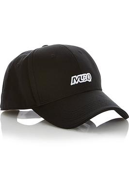 mcq-alexander-mcqueen-mens-logo-baseball-cap-black
