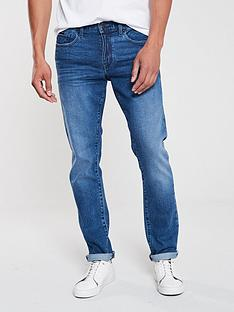armani-exchange-j13-classic-wash-jeans-blue