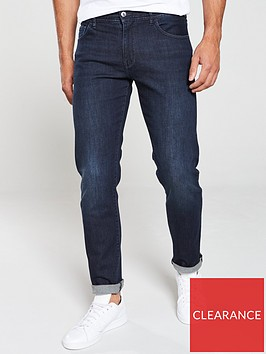 armani-exchange-j16-straight-fit-classic-jeans-indigo