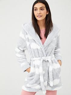 v-by-very-printed-cloud-wellsoft-robe-grey-cream