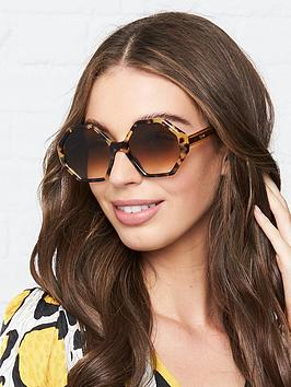 chloe-willow-havana-hexagon-sunglasses-havana