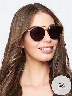 karl-lagerfeld-kreativenbspround-double-bridge-sunglasses-grey