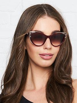 karl-lagerfeld-choupette-stud-catnbspeye-sunglasses-burgundy