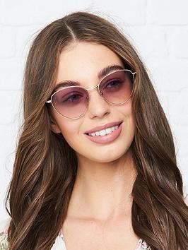 longchamp-round-gradient-lens-sunglasses-gold