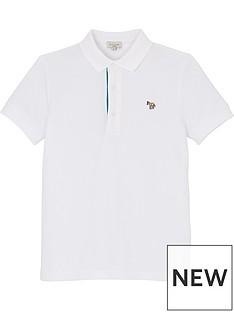 paul-smith-junior-boys-ridley-zebra-short-sleeve-polo-shirt-white