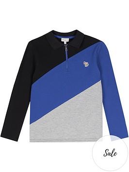 paul-smith-junior-boys-vivier-colour-block-long-sleeve-polo-shirt-multi