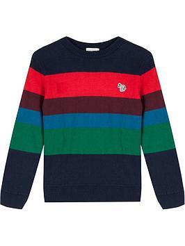 paul-smith-junior-boys-valery-stripe-jumper-multinbsp