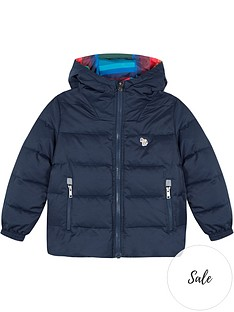 paul-smith-junior-boys-victorius-reversiblenbsppadded-coat-navymulti