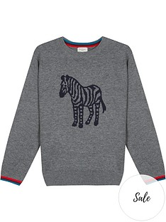 paul-smith-junior-boys-vilan-zebra-knitted-jumper-grey