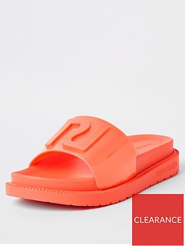 river-island-neon-slider-orange