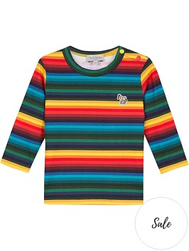 paul-smith-junior-baby-valdo-stripe-long-sleeve-t-shirt-multi