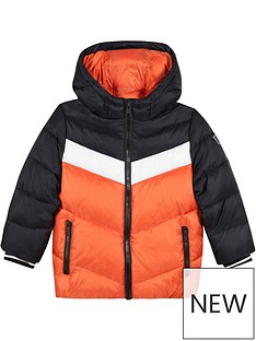 paul-smith-junior-boys-vedasto-colour-block-padded-coat-orangeblack