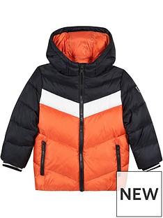 paul-smith-junior-boys-vedasto-colour-block-padded-coat-orangeblack