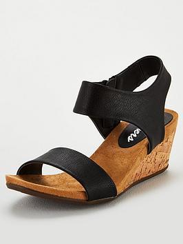 skechers-cool-step-wedge-sandals-black