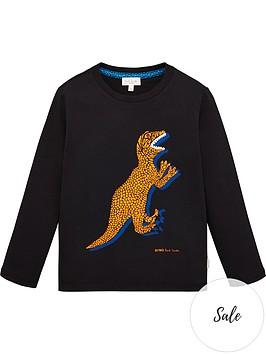 paul-smith-junior-boys-vilfrid-large-dino-long-sleeve-t-shirt