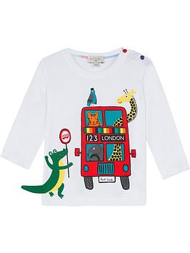 paul-smith-junior-baby-von-bus-print-long-sleeve-t-shirt-white