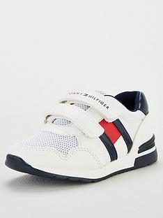 tommy-hilfiger-toddler-boys-velcro-flag-trainers-white