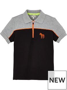 paul-smith-junior-boys-vireak-zebra-zip-neck-short-sleeve-polo-shirt-black